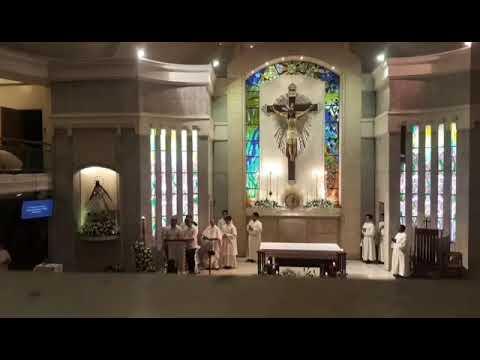 Litanya ng mga Banal (Fr. REY MAGNAYE) - Cantors: Alfred,Bjohn,Renz & Rhoj