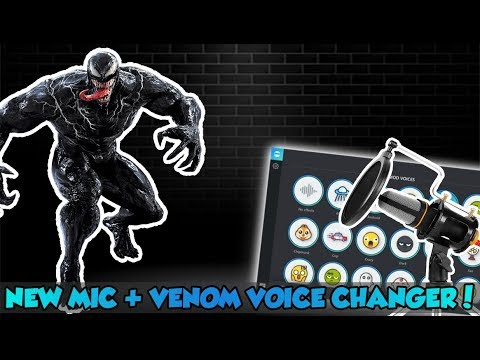 *NEW* MIC REVIEW + VOICEMOD TUTORIAL! (How To Sound Like Venom)