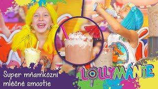 Lollymánie S02E29 - Super mňamkózní mléčné smoothie a Oťasova pohádková appka