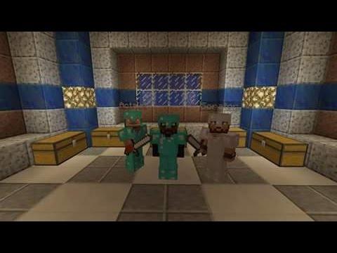 Minecraft Ps4 - Ep 3 - Coop Sorator, Acenezz & Flo