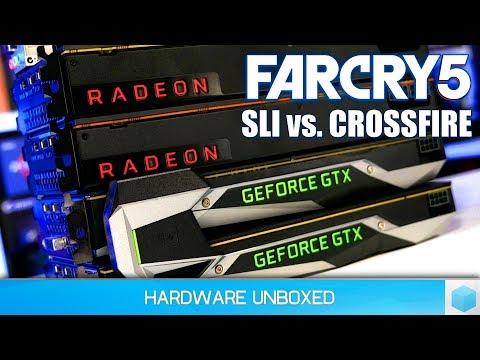 Far Cry 5: Vega 56 Crossfire vs. GTX 1070 Ti SLI + Nvidia Driver Update Tested