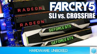Far Cry 5: Vega 56 Crossfire vs. GTX 1070 Ti SLI + Nvidia Driver Update Tested