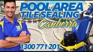 Sealing Pool Pavers | Canberra Pool Tiles Sealing