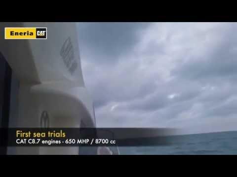 Queens 50HT - New CAT C8.7 marine engines onboard