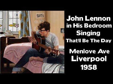 John Lennon Singing That'll be the day- Mendips - 1958