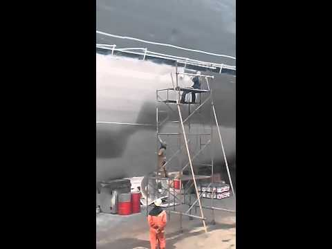 Ship Blasting and Ship Painting