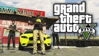 GTA 5 THUG LIFE #10 - TRAIN ROBBERY! (GTA V Online)