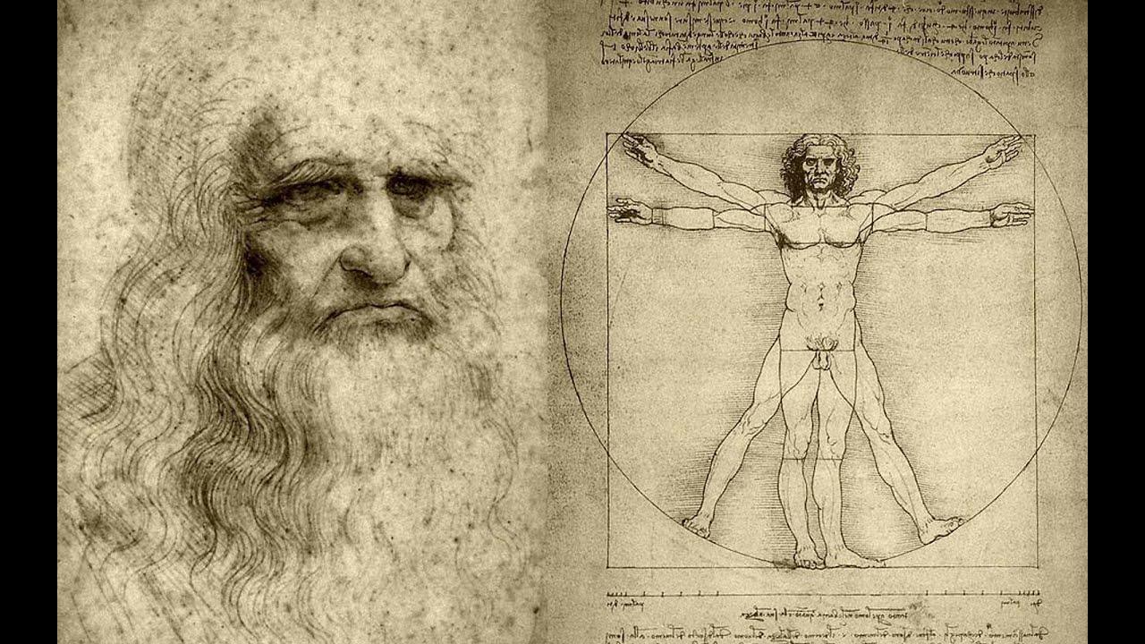 Homem Vitruviano | Leonardo Da Vinci | a centralidade do eu