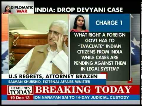 Salman Khurshid talks about Bharara's statement questioning Indian judicial system
