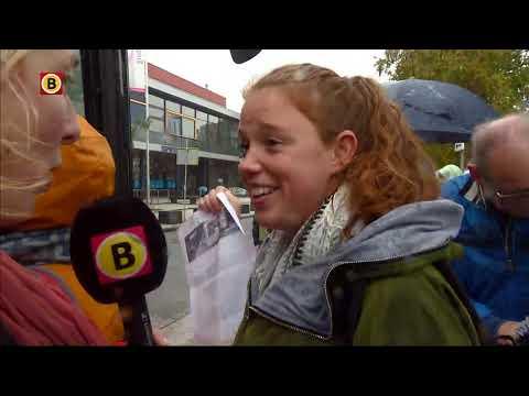 Bussen vol juffen en meesters onderweg naar Den Haag