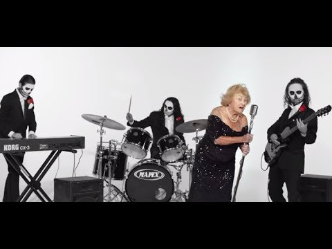Documentary of 'Death Metal Grandma' now on line... 96 years old in metal band..!