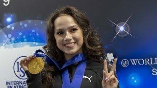 ALINA ZAGITOVA Worlds19 FS tdp commentary Rus En sub ЧМ в Японии c испанскими комментариями