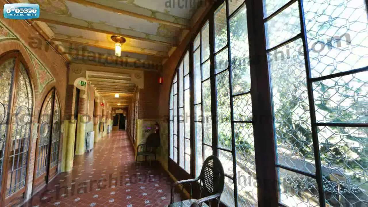 visita virtual Reus Institut Pere Mata  corredor 1