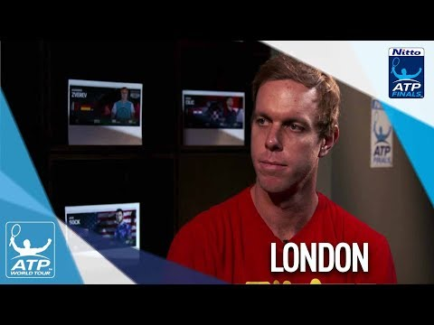 Querrey Previews Federer Vs. Zverev Clash Nitto ATP Finals 2017
