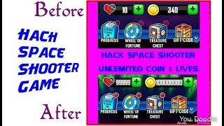 Hack game space shooter