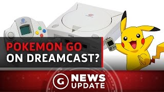 Fan-Made Pokémon GO Coming to Dreamcast's VMU - GS News Update