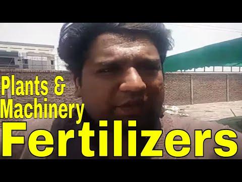 Zinc, humic, nitrogen plant machinery running
