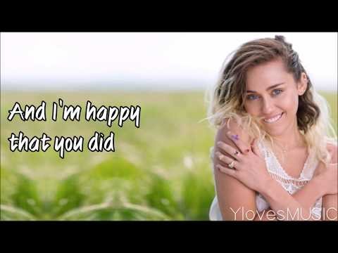 Miley Cyrus - Malibu (Lyrics)
