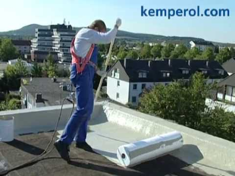 Waterproofing Of Flat Roof With KEMPEROL