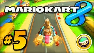 Mario Kart 8 GAMEPLAY - Part #5 w/ Ali-A! - Shell Cup 150cc (MK8 Wii U)