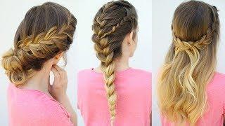 3 French Braid Hairstyles | Back to School Hairstyles | Braidsandstyles12