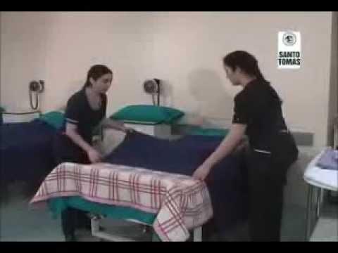 Cama de anestesia youtube for Cama cerrada