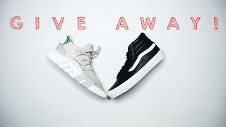 The Best Hi-Cut Sneaker // Sneaker Shopping for a GIVEWAY!