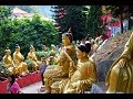 Kopie videa Ten thousands buddhas monastery. Hongkong.