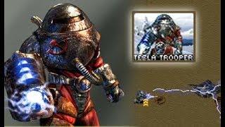 Red Alert 2: Yuri's Revenge - Testing Tesla Troopers
