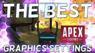 APEX LEGENDS BEST GRAPHICS SETTINGS - SEE EVERYTHING - Apex BEST Settings
