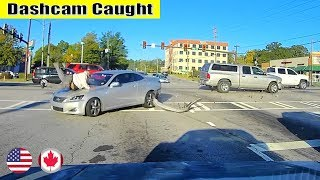 Ultimate North American Cars Driving Fails Compilation - 113 [Dash Cam Caught Video]