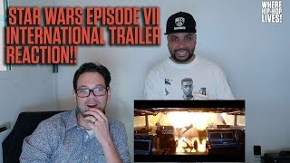 New Star Wars Footage! Episode VII International Trailer Reaction from Power 106