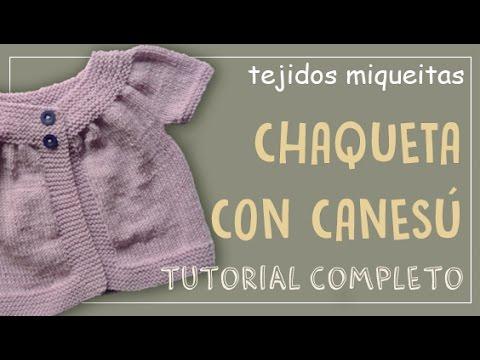 Tutorial para tejer chaleco para niña en una sola pieza - YouTube 3b66724264ee
