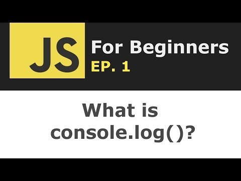 What is console.log in JavaScript? | JS for Beginners Ep. 1 thumbnail
