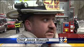 Flames Shatter Windows During Firehouse Emergency In Westchester County