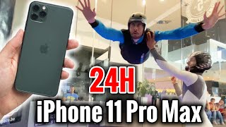 24H avec un iPhone 11 Pro Max ! (batterie, camera...)