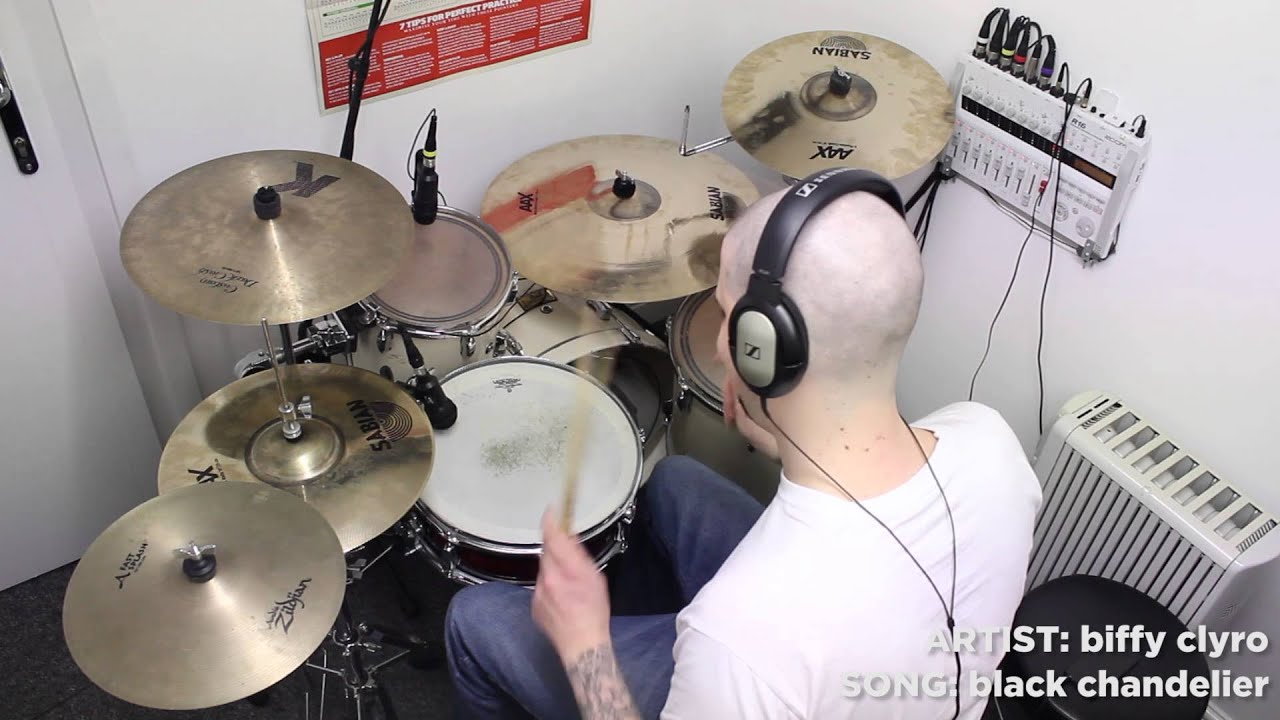 Biffy clyro black chandelier drum cover by love it drum it youtube biffy clyro black chandelier drum cover by love it drum it arubaitofo Image collections