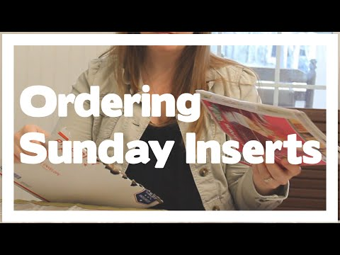 Order Sunday Paper Inserts: Coupons In Your Mailbox