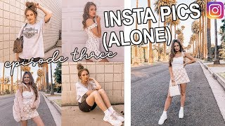 how i take instagram pictures by myself!! (ep 3)