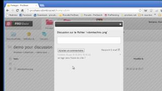 "ProShare : le Plugin ""Discussion"""