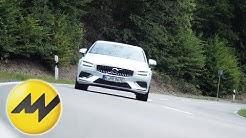 Volvo S60 T4 / T8   Verbrauchstest Benziner vs. Hybrid   Motorvision