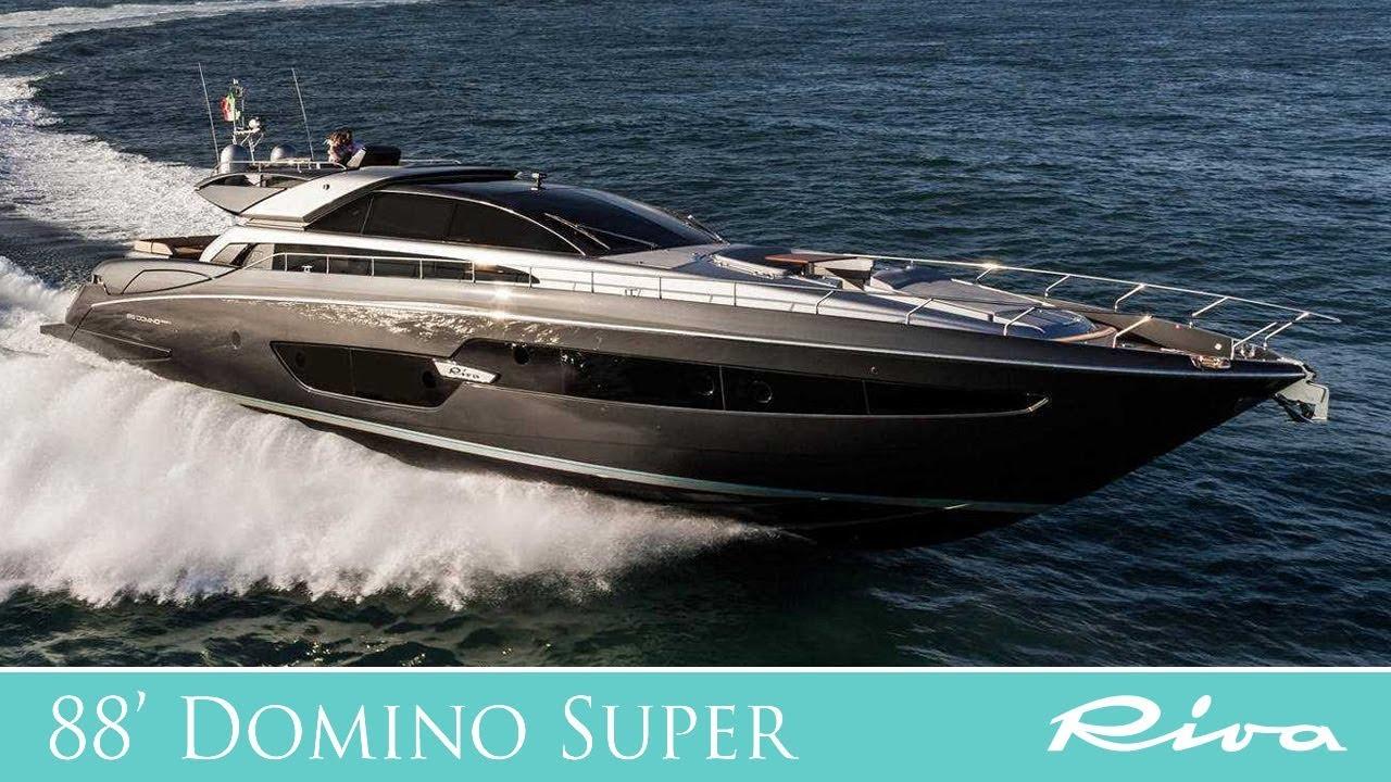 Luxury Yacht   Riva Yacht 88&39; Domino Super   Ferretti Group   YouTube