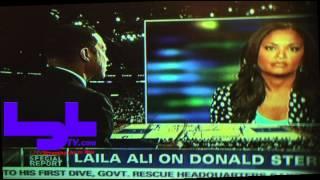 Laila Ali Talks With Don Lemon On Cnn 5/5/14