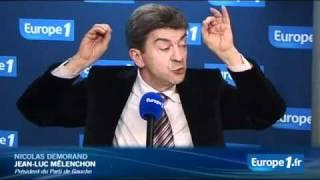 Clash Mélenchon Demorand