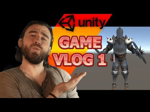 Unity 3D Game RPG Roguelike Development VLOG 1 - Character And Armor