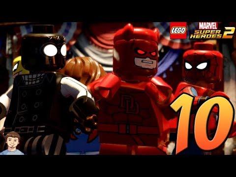 LEGO Marvel Super Heroes 2 - PART 10 - Daredevil & Spider ...