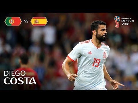 Diego COSTA Goal 2 - Portugal v Spain - MATCH 3