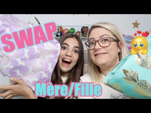 SWAP MERE / FILLE 🎀 ENORME FOU RIRE !!!