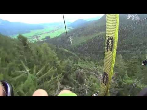 Zipline 102 Km/h Amazing In Schladming/Gröbming
