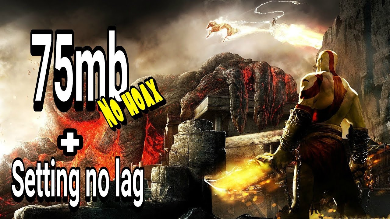 75mb!! God of War Ghost of sparta high Compres Ppsspp+setting
